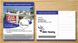 Postcard Design by alex989 - Property Management Expansion