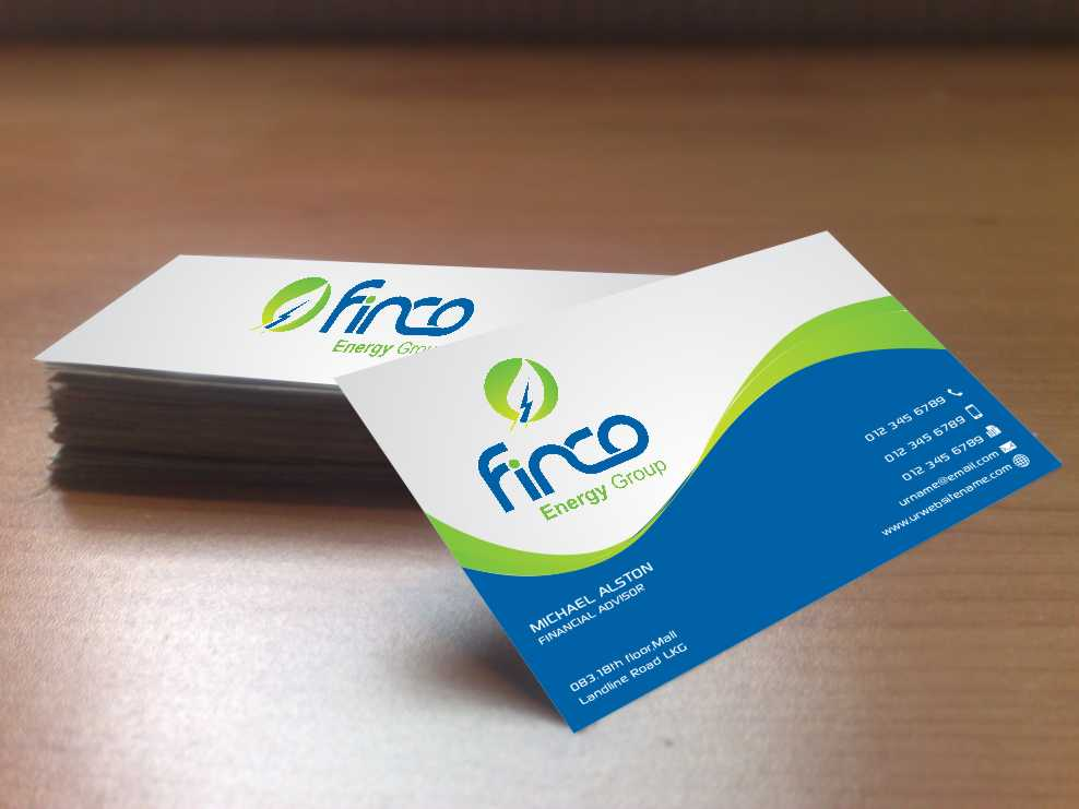 Energy business card designs energy business card design by szabist reheart Image collections