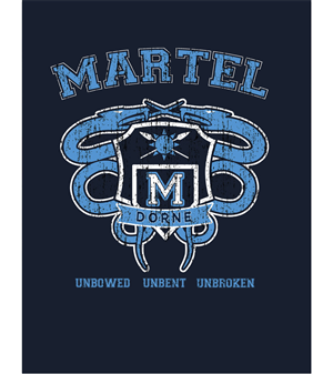Vector Design by Coliseum Graphics - House Martell College Logo