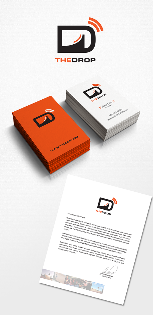 Business Logo Design for The Drop by Enzzok | Design #4553171