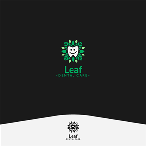 Logo Design for Leaf Dental Care by pelys