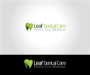 Logo Design by Akbarsidiq03 - Leaf Dental Care