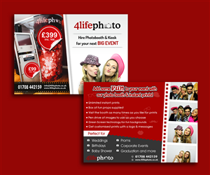 Flyer Design by WEBSEOBUY - Photo Booth and Photo Kiosk Promotion