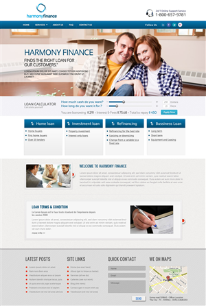 Finance Website 1280909