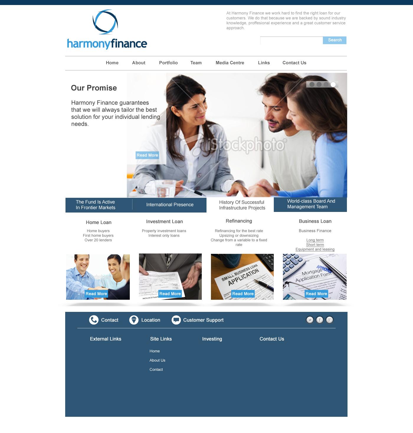 Professional masculine web design for chris sergis by for Masculine web design