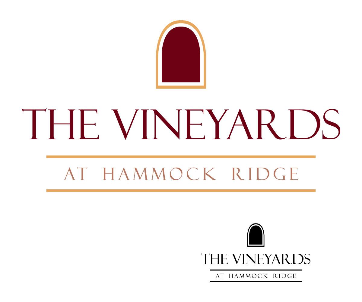 Elegant playful apartment logo design for the vineyards for Apartment logo design
