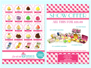 cupcake flyer designs 3 flyers to browse