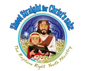 Illustration Design by Graphicsexpert - Shoot Straight for Christ's sake!