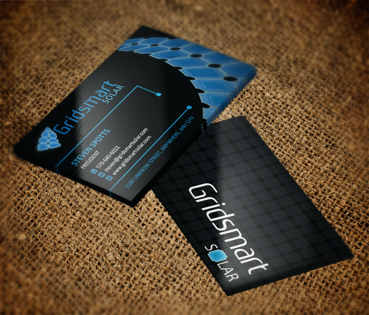 Business Business Card Design For Gridsmart Solar By Mt