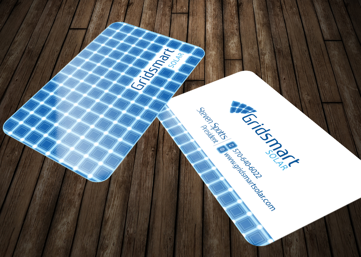 Business Business Card Design for Gridsmart Solar by Aaron | Design ...