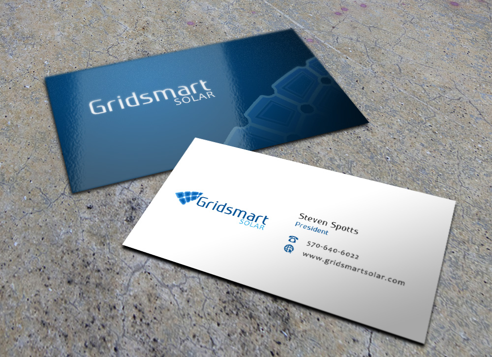 Business business card design for gridsmart solar by eggo may p business business card design for gridsmart solar in united states design 4492096 colourmoves Image collections