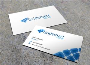 44 business card designs business business card design project for business card design by eggo may p for gridsmart solar design 4492106 colourmoves Image collections