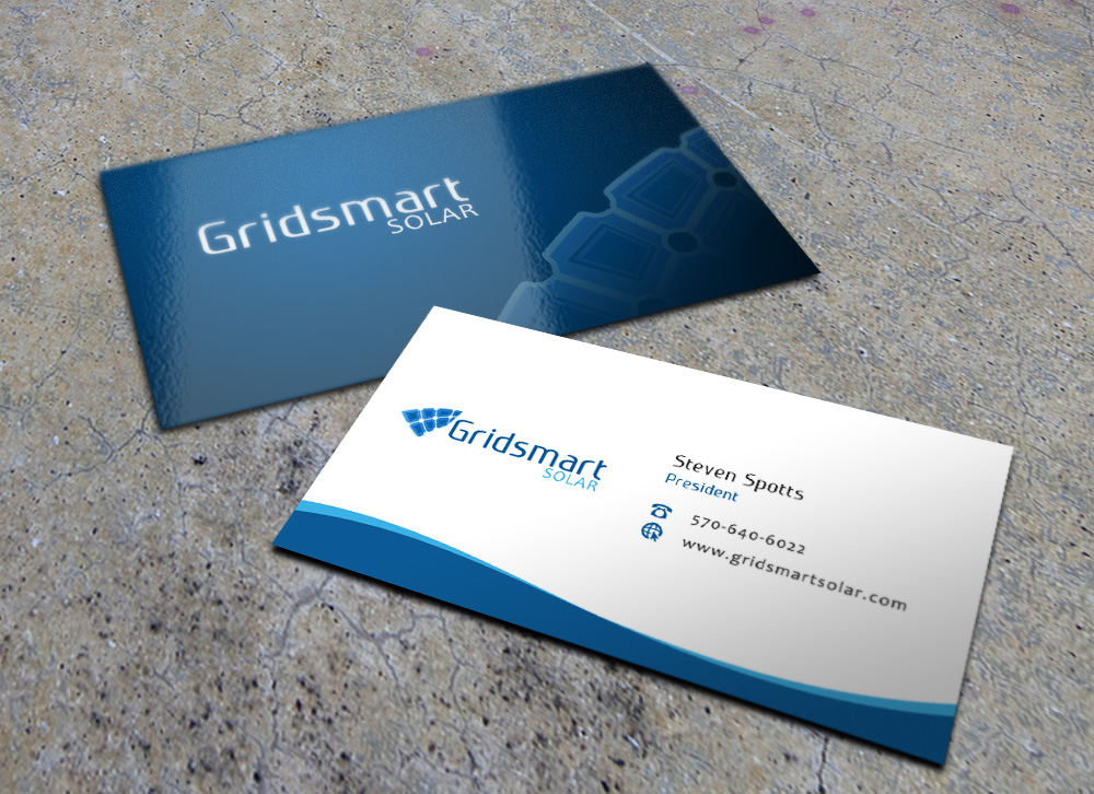 Business business card design for gridsmart solar by eggo may p business business card design for gridsmart solar in united states design 4492115 colourmoves