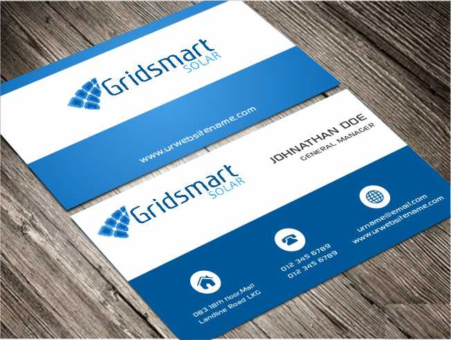 Business business card design for gridsmart solar by awsomed business business card design for gridsmart solar in united states design 4499351 colourmoves Image collections