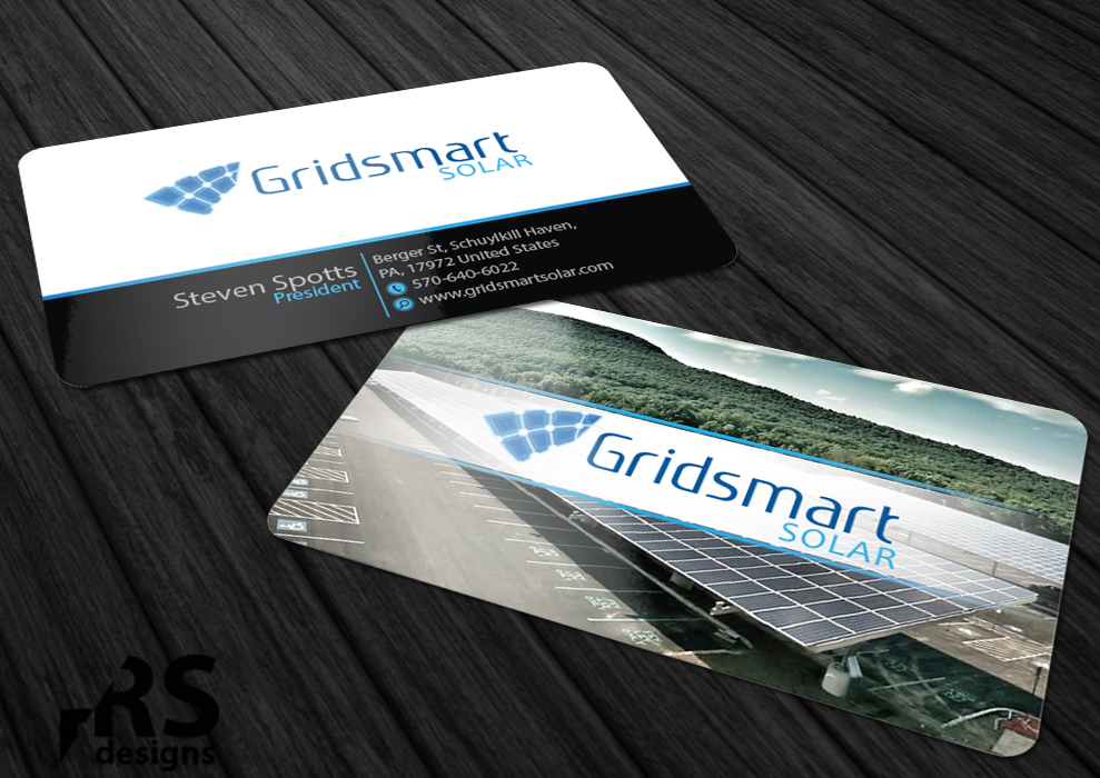 Business Business Card Design for Gridsmart Solar by RS designs ...