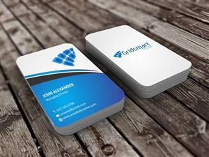 44 business card designs business business card design project for business card design by szabist for gridsmart solar design 4499285 colourmoves