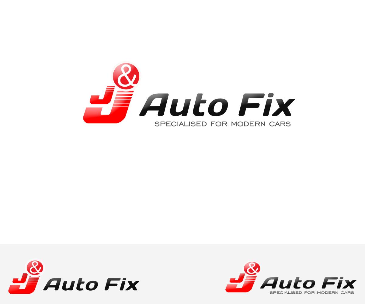 Automotive Logo Design For J J Auto Fix By Ganesh Kumar Design