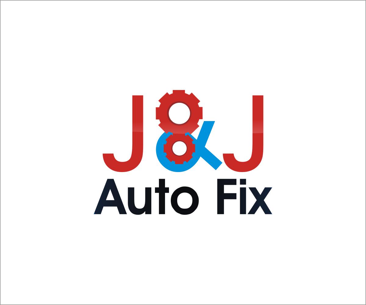 Automotive Logo Design For J J Auto Fix By Graphic Media Design