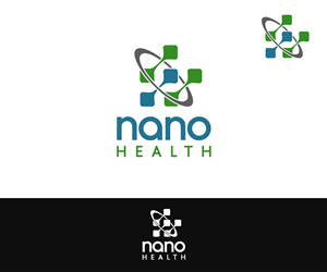 Logo Design by M.Pirs - Health company modern logo