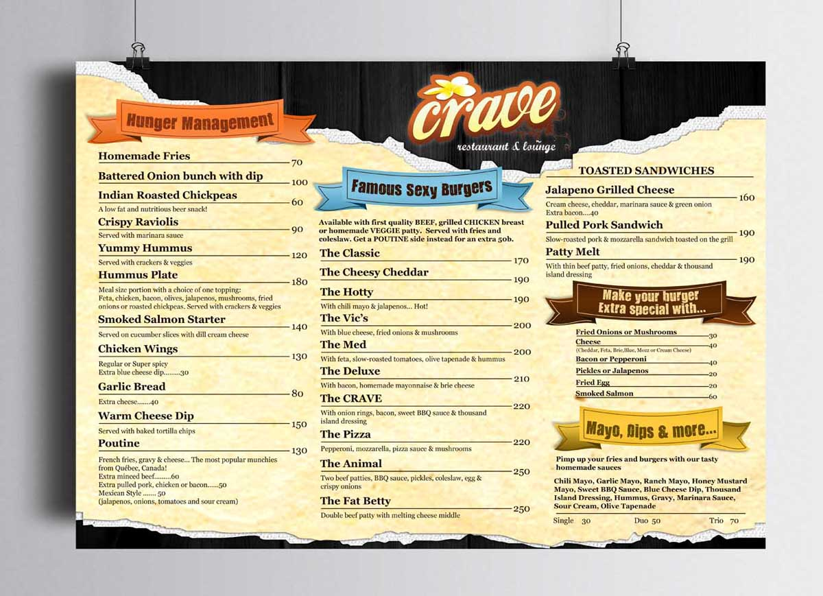The Balcony Restaurant And Cafe Lounge Our Burger Wrap Menu