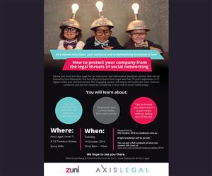 Invitation Design by maZat - Social Media Breakfast Invite
