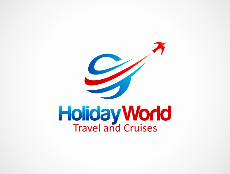 Bold modern logo design for holiday world by sensho for Design agency