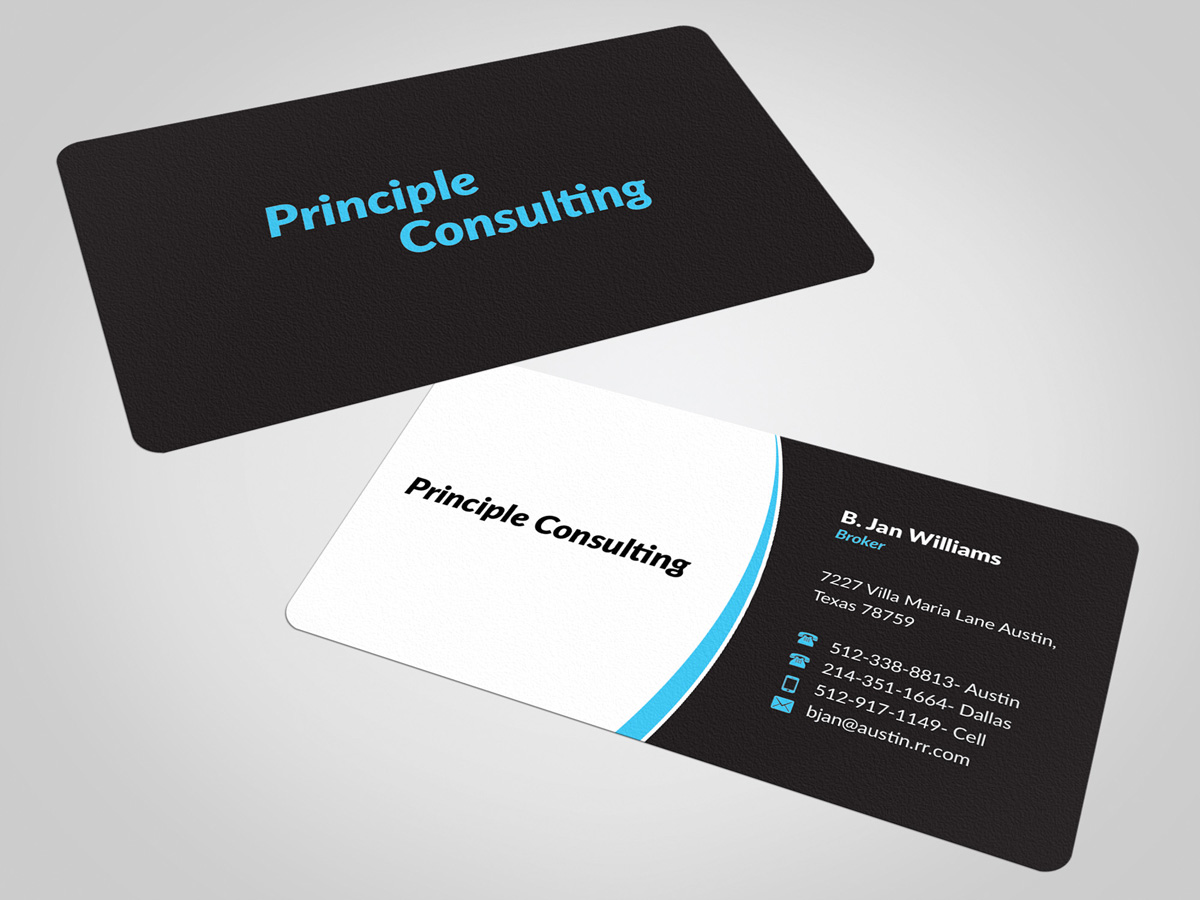 Business Card Design for Meghan Cox by nuhanenterprise | Design #4505683