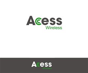 Logo Design by LOGO SPECIALIST - Access Wireless