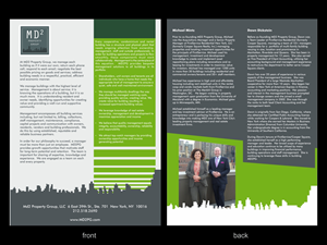 Brochure Design by Ivansan - New York Property Management Company needs a Br ...