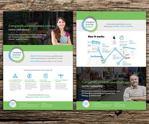Brochure Design by Beckon Designs - Brochure design targeting business brokers