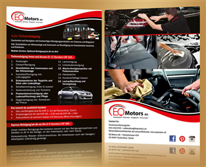 Flyer Design by ALSADESIGN - CarWashing & AutoMechanical parts flyers