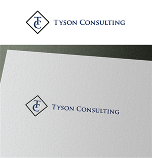 Logo Design by Shahir Fawas - TYSON CONSULTING LOGO DESIGN