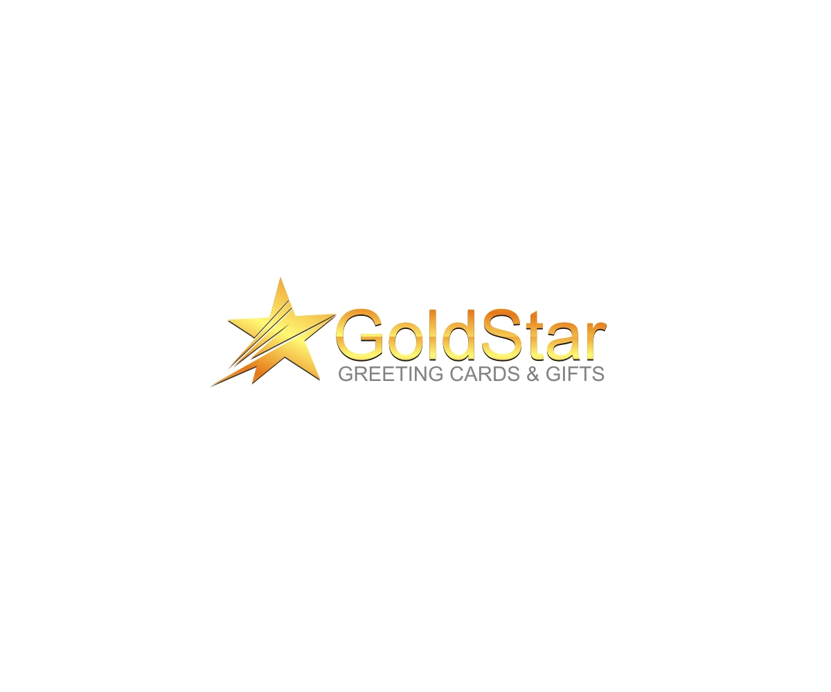 Business Logo Design For Goldstar Greeting Cards Gifts By