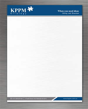 letterhead design design 1310567 submitted to kppm letterhead closed - Letterhead Design Ideas