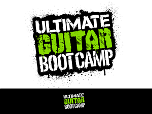 Logo Design by STierney - ULTIMATE GUITAR BOOT CAMP - LOGO DESIGN