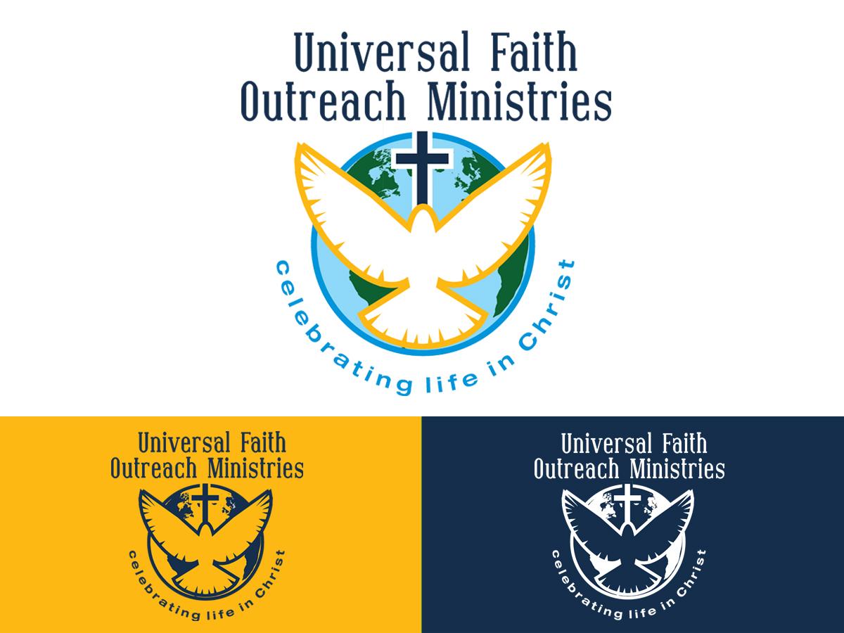 Elegant Serious Graphic Design Logo Design For Universal Faith