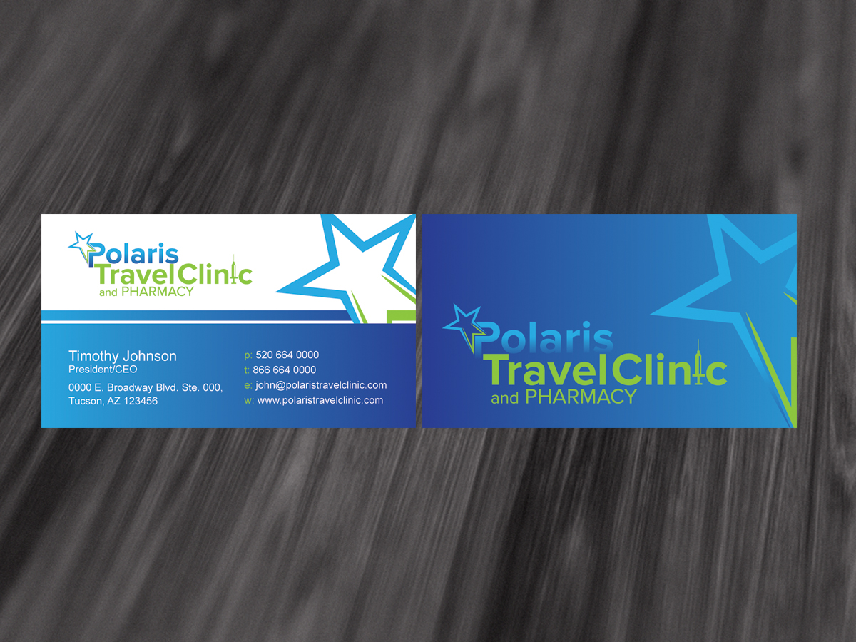 Modern bold clinic business card design for a company by dirtyemm business card design by dirtyemm for this project design 1285162 colourmoves