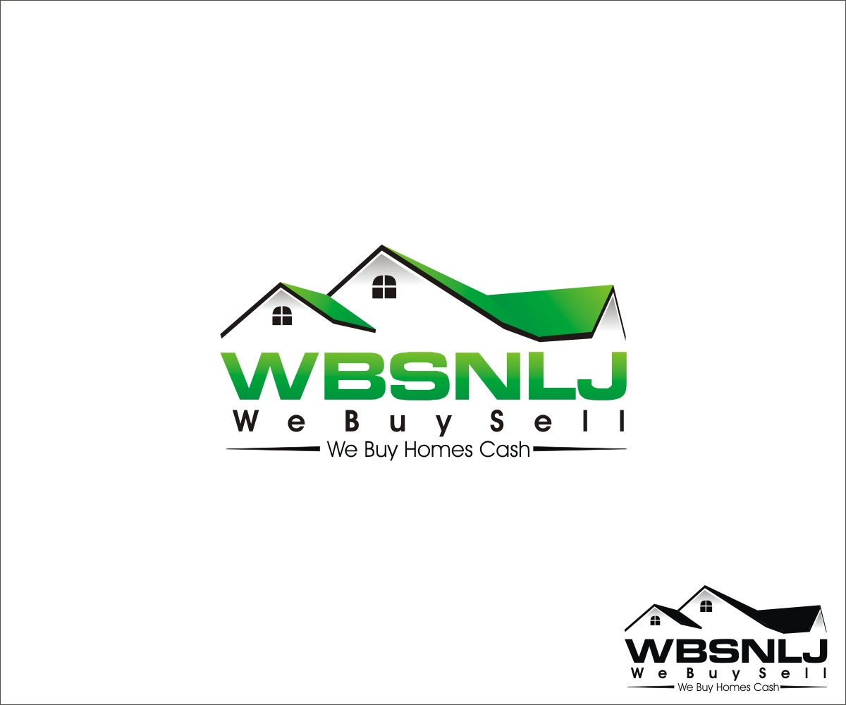 Real Estate Logo Design for We buy homes cash by Design Craft ...