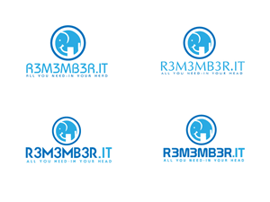 Icon Design by AssertSoft - Logo for R3m3mb3r.It