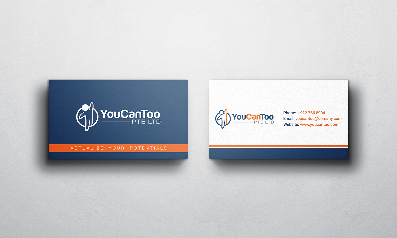Character Design Course Singapore : Training business card design for you can too pte ltd by