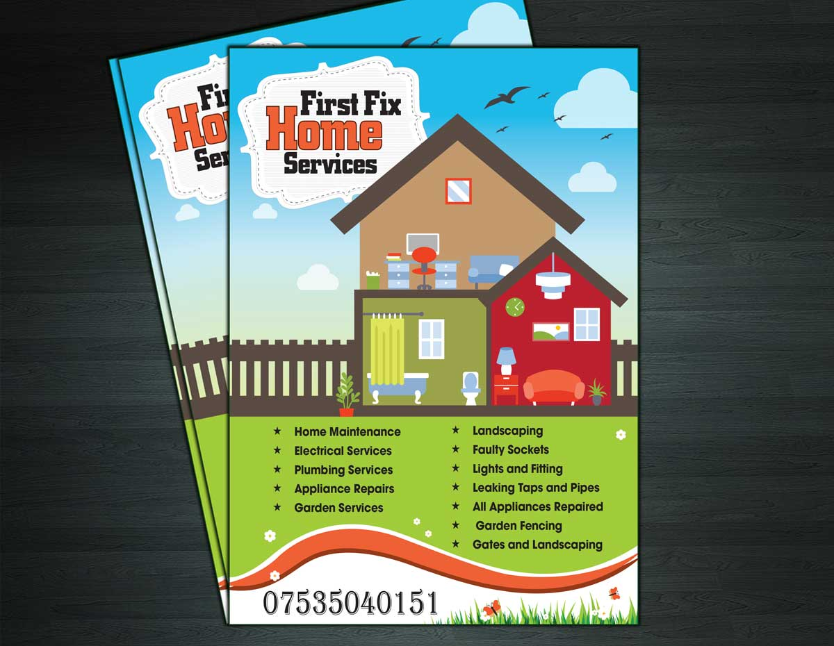 flyer design by ramchander ramchander - Home Builder Design