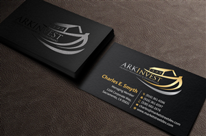 109 Professional Serious Construction Business Card Designs For A