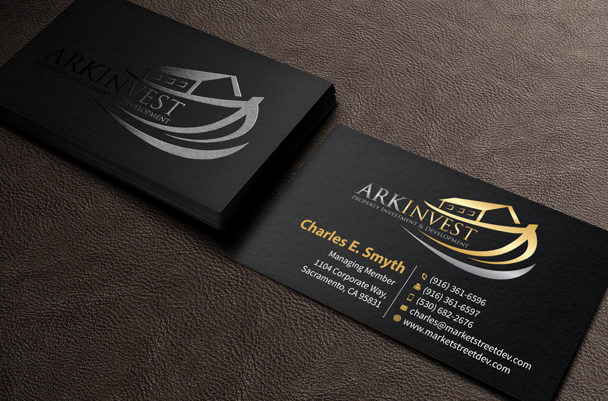 Professional serious business card design for bon wang by business card design by mediaproductionart for investment company business card design design 4630275 magicingreecefo Images