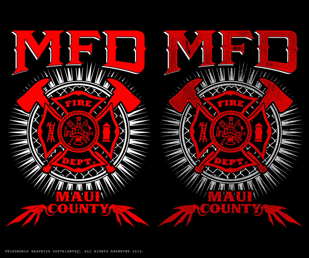fire department t shirt design for a company by