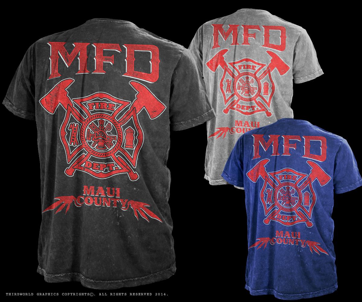 33 professional fire department t shirt designs for a fire for Fire department tee shirt designs