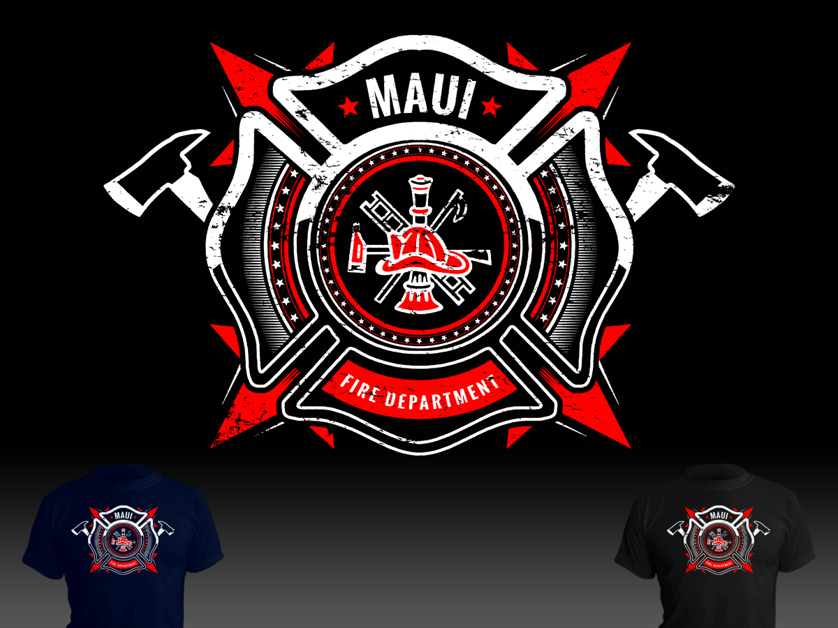fire department t shirt design for a company by stierney