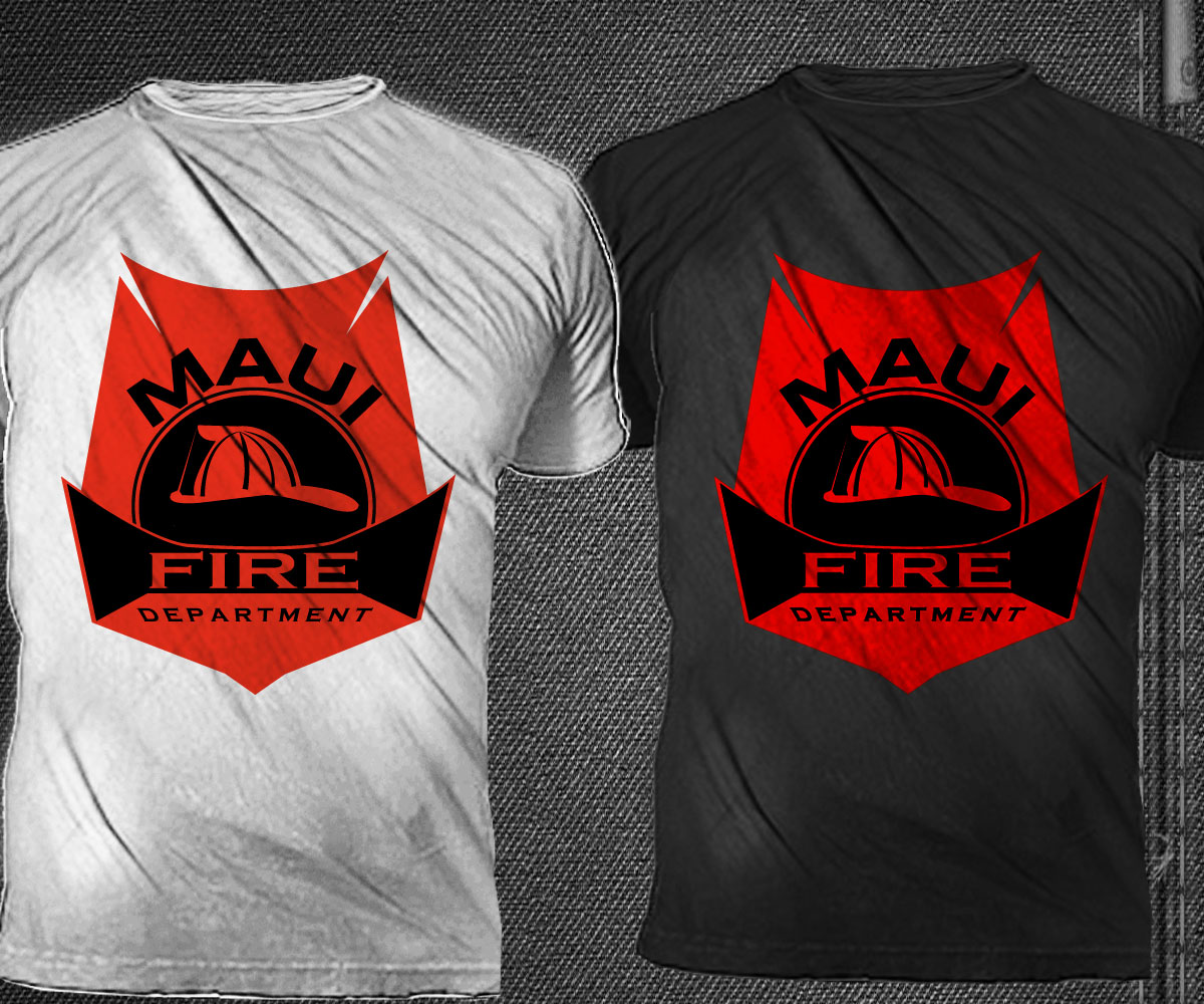 Fire department t shirt design for a company by trhz for Fire department tee shirt designs