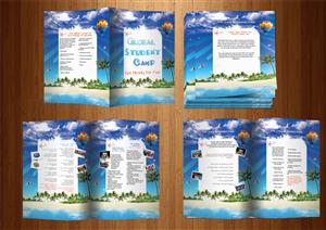 Brochure Design by Tünde Nagy - Global Student Camp