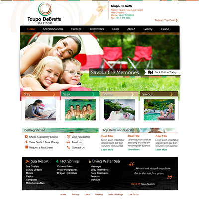 Fitness Website Design 220242