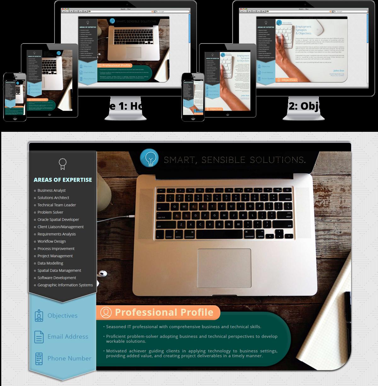 Professional masculine web design for dave j by webxd for Masculine web design